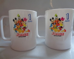 Caneca de 300ml Turma do Michey 02