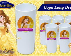 Copo Long Drink -Bella e a Fera