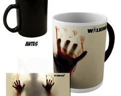 Caneca Magica The walking dead + brinde