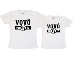 Kit Camiseta Vovô Vovó
