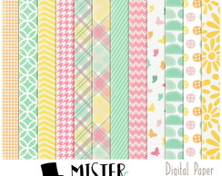 Papel Digital Flower Summer