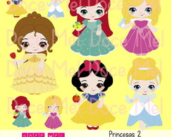 Kit Digital Princesas 2