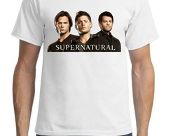 Camiseta Estampada serie supernatural