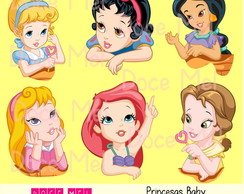 Kit Digital Princesas Baby