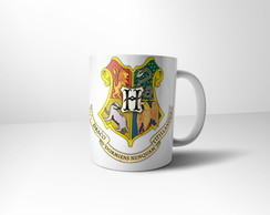 Caneca Harry Potter Hogwarts