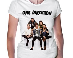 Camiseta Baby Look One Direction #1