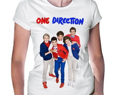 Camiseta Baby Look One Direction #2
