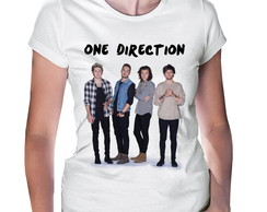 Camiseta Baby Look One Direction #3