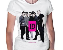 Camiseta Baby Look One Direction #4
