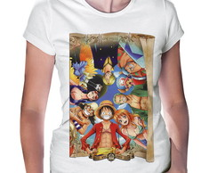 Camiseta Baby Look One Piece #1