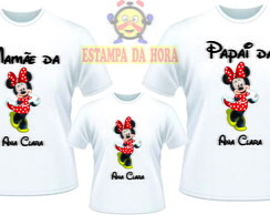 Kit Camisetas Personalizadas Minnie
