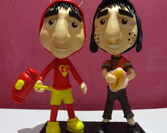Dupla - Mini Chaves + Mini Chapolin