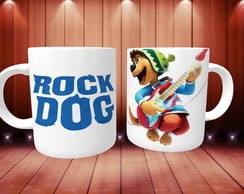 Caneca Rock Dog