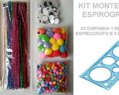 KIT MONTESSORI ESPIROGRAFO