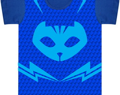 Camiseta Adulto Cat Boy (PJ Mask)