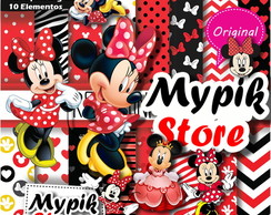 Kit Digital Minnie Vermelha Scrapbook-54