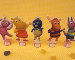 Tubetes dos Backyardigans