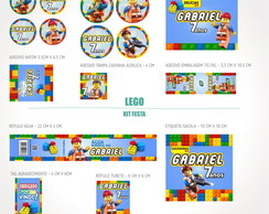Kit festa digital LEGO