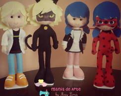 Miraculous (4 personagens)