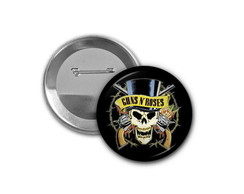 Botton Guns and Roses - 4,5cm