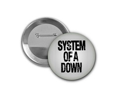 Botton System of a Down - 4,5cm