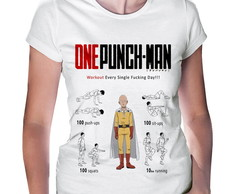 Camiseta Baby Look One Punch Man