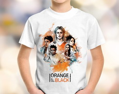 Camiseta Infantil Orange Is The New B #1