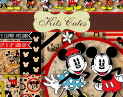 Kit Digital Mickey e Minnie 04