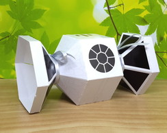 Caixa Nave Star Wars White