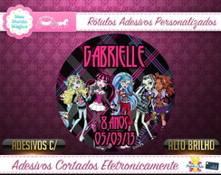 Monster High- Auto Adesivos