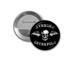 Botton Avenged Sevenfold - 4,5cm