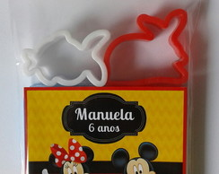 Massinha de Modelar Mickey e Minnie