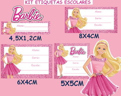 KIT ESCOLAR BARBIE