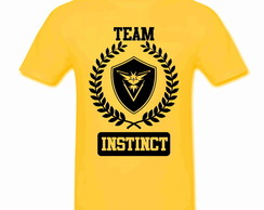 Camiseta Inf Pokemon Instinct 100% Alg