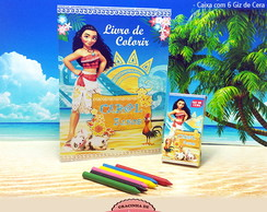 Kit de Colorir - Moana