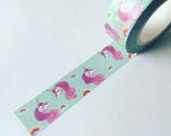 Washi Tape Unicórnio - W00641
