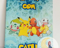 Revista Para Colorir - Pokemon