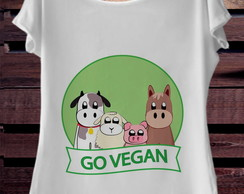 T-Shirt Go Vegan