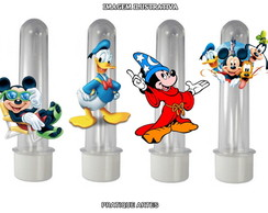 Tubete com Aplique - Turma do Mickey