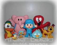POCOYO KIT 8 PERSONAGENS