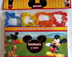 Massinha de Modelar Mickey 12 cores