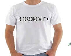 camiseta 13 reasons why (series)