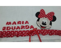 Fralda em patch aplique Minnie