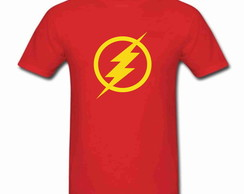 Camiseta Infantil The Flash 100% Algodão