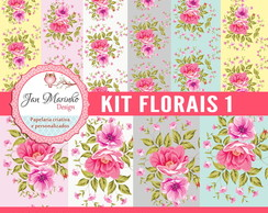 Kit Digital Florais 1