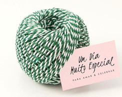 Linha Bakers Twine Verde Rolo 100m