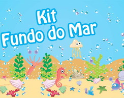 Kit festa Fundo do Mar