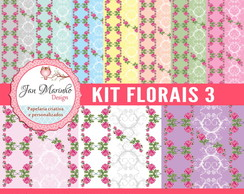Kit Digital Florais 3