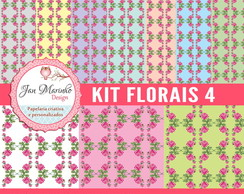 Kit Digital Florais 4