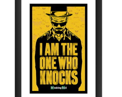 Quadro Breaking Bad Seriado Tv Frases